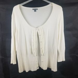 Women's Apt 9 Button up Cardigan Size Large